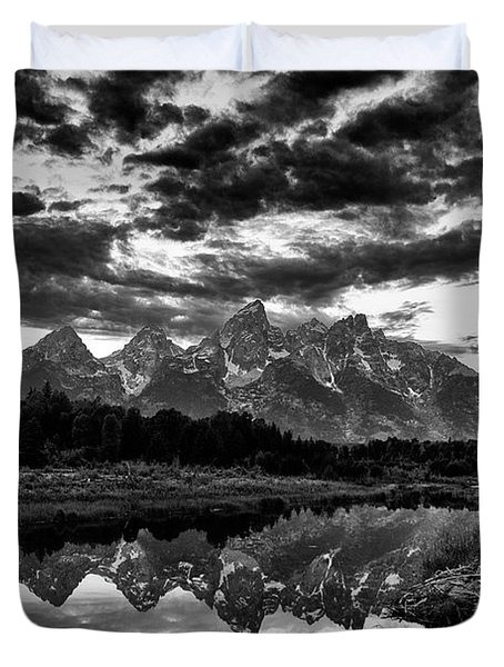 Grand Tetons, Wyoming Duvet Cover
