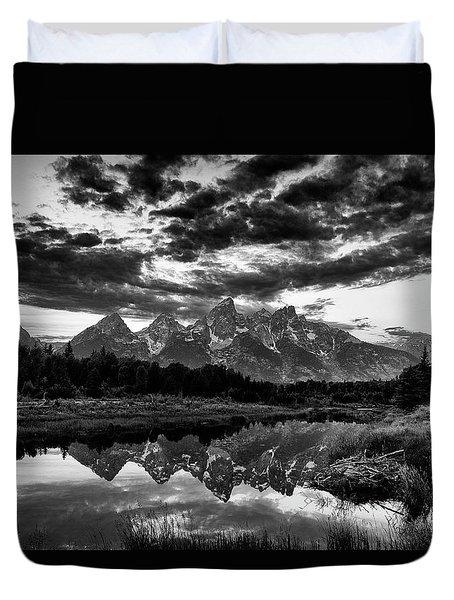 Grand Tetons, Wyoming Duvet Cover