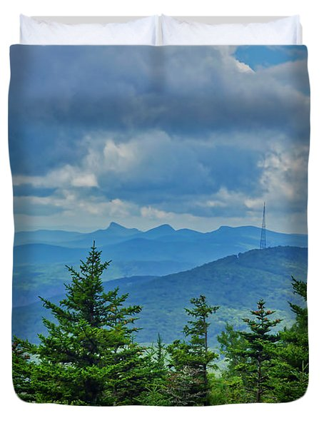 Grandmother Mountain Duvet Cover