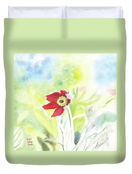 Granny Flower 3 Duvet Cover