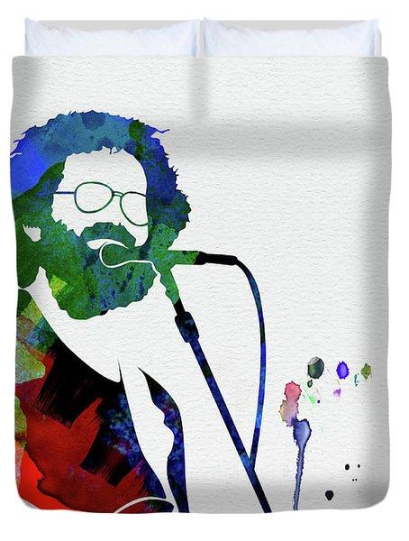 Grateful Dead Watercolor Duvet Cover