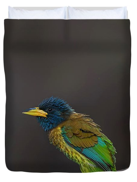 Great Barbet Duvet Cover
