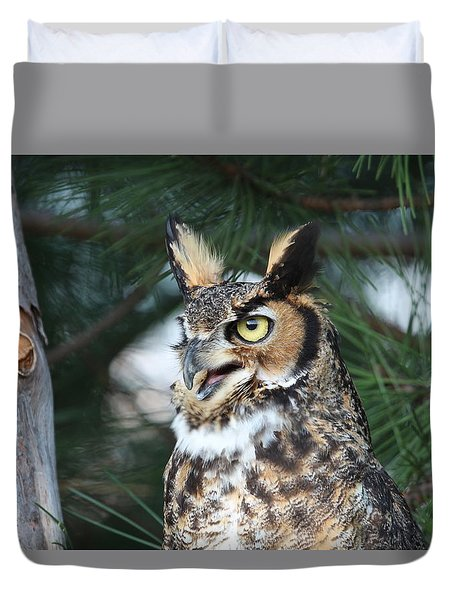 Great Horned Owl 5151801 Duvet Cover