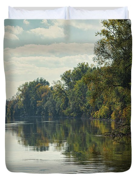 Great Morava River Duvet Cover