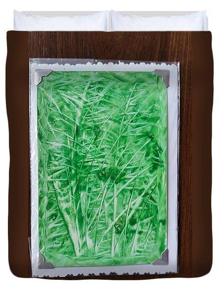 Green Jungle Duvet Cover
