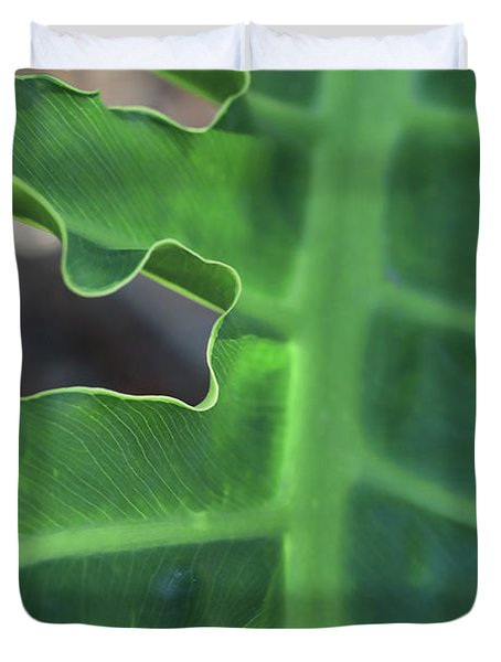 Green Space Duvet Cover