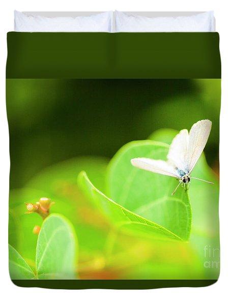Green Wilderness Duvet Cover
