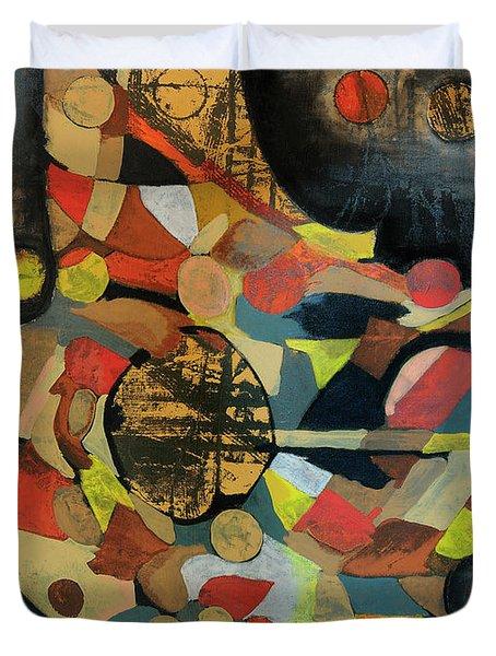 Grounded In Art Duvet Cover