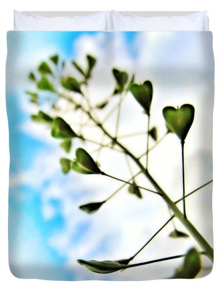 Growing Love Duvet Cover