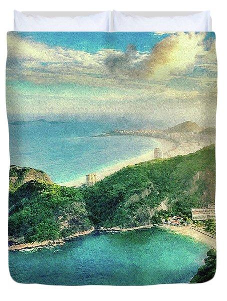 Guanabara Bay Duvet Cover