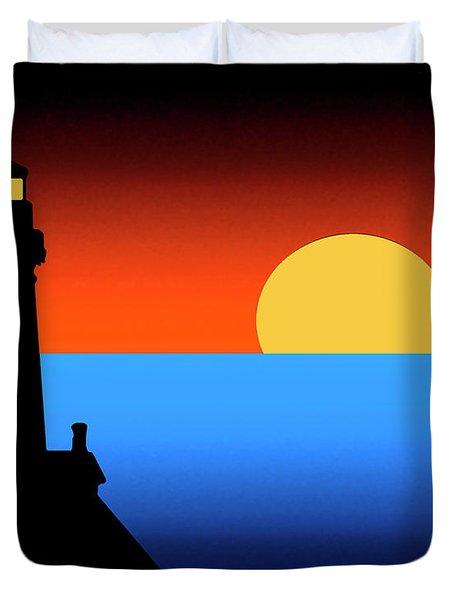 Guardian Lighthouse Duvet Cover