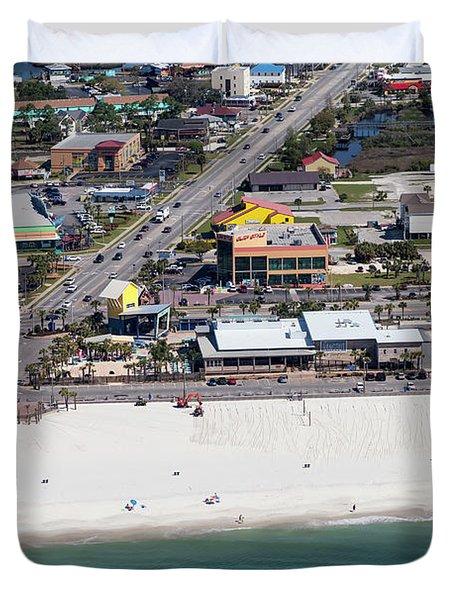 Gulf Shores Beach 7139 Duvet Cover