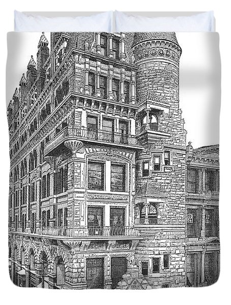 Hale Building Duvet Cover