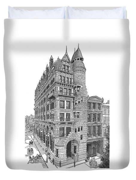 Hale Building Duvet Cover