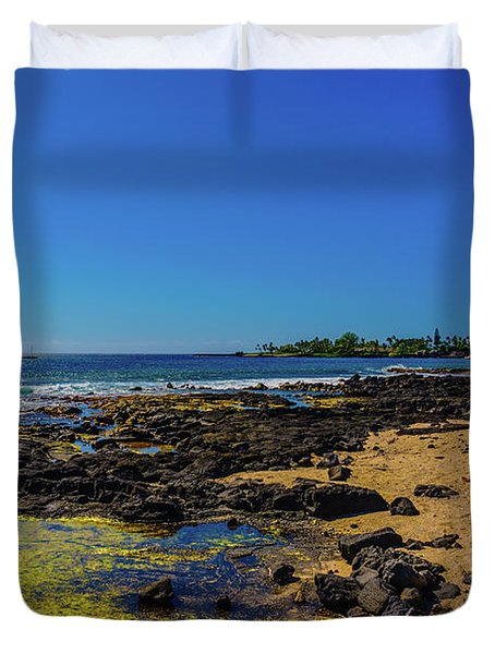 Hale Halawai Tide Pool Duvet Cover