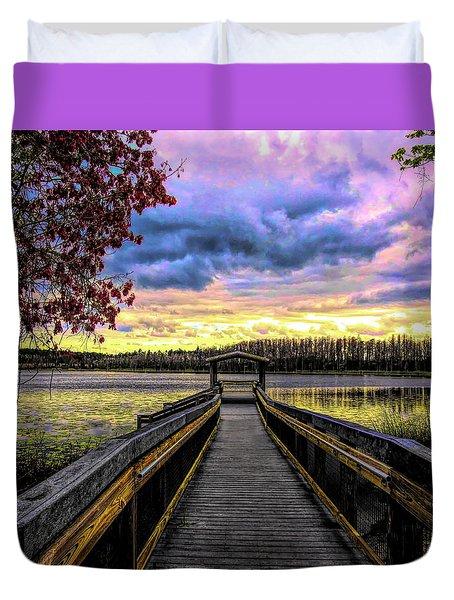 Hammond Lake Duvet Cover