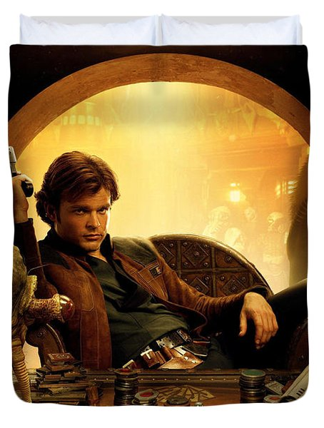 Han Solo A Star Wars Story Duvet Cover