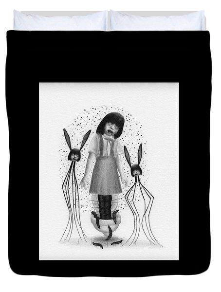 Hanako San - Artwork  Duvet Cover