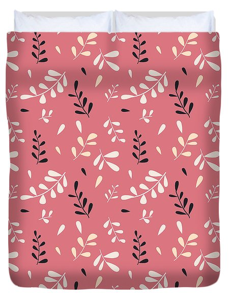 Hand Drawn Floral Pattern Duvet Cover