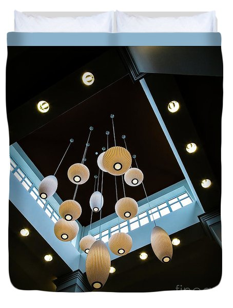 Hanging Lights Duvet Cover