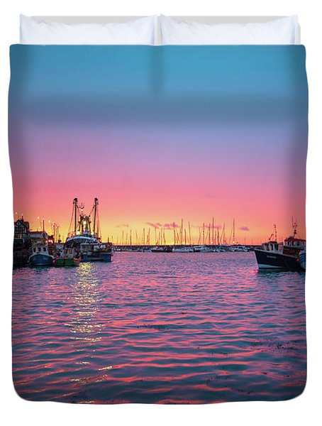 Harbour Lights Duvet Cover