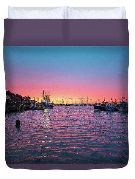 Harbour Lights Duvet Cover