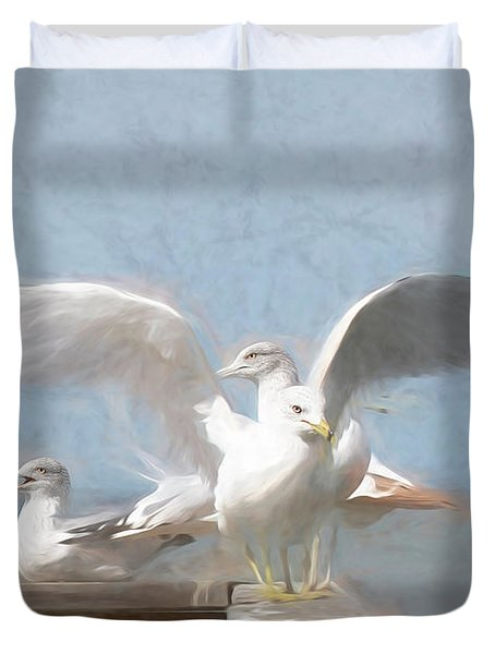 Harbour Watch Duvet Cover