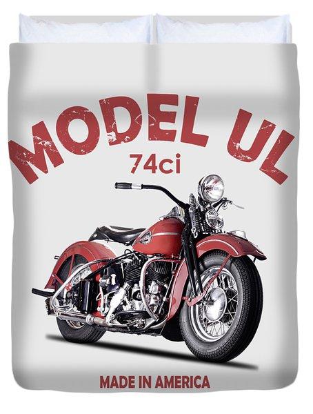 Harley-davidson Ul 1941 Duvet Cover