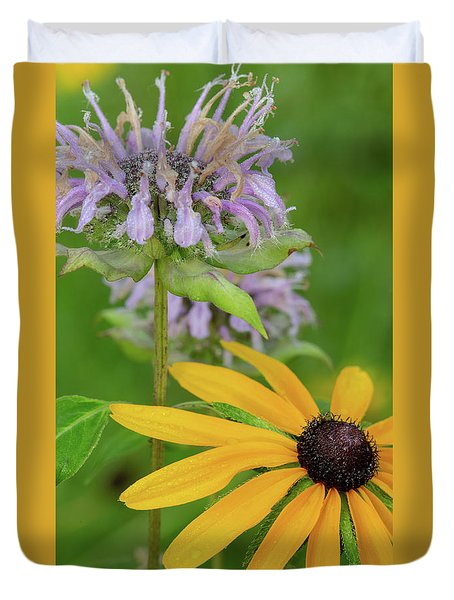 Duvet Cover featuring the photograph Harmony In Nature by Dale Kincaid