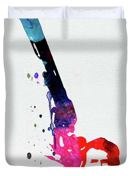 Harry Watercolor Duvet Cover