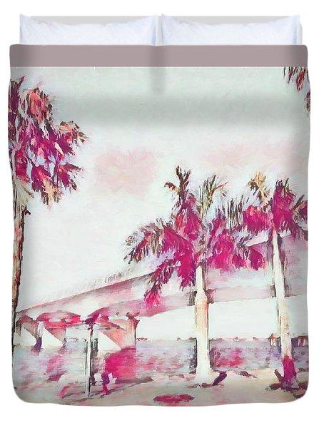 Harts Landing Sarasota Duvet Cover
