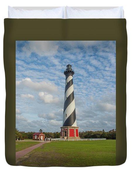 Hatteras Lighthouse Duvet Cover