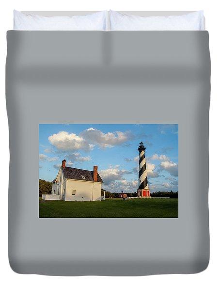 Hatteras Lighthouse No. 2 Duvet Cover