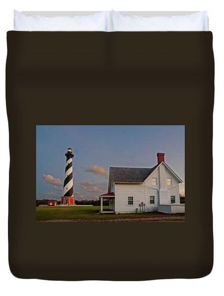 Hatteras Lighthouse No. 3 Duvet Cover