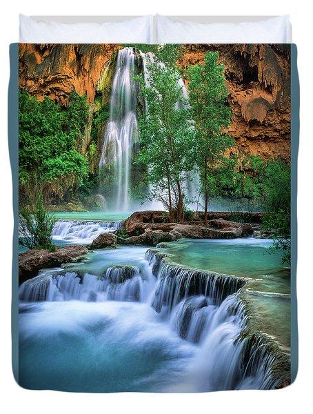 Havasu Paradise Duvet Cover