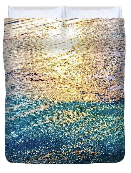 Hawaiian Sunset Duvet Cover by D Davila