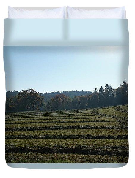 Haymaking Duvet Cover