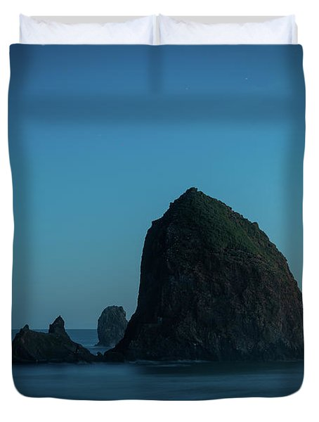 Haystack And Needles Duvet Cover