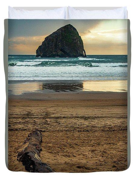Haystack Reflection Duvet Cover