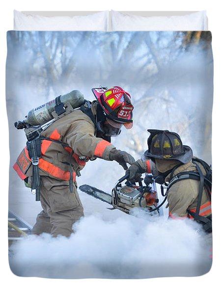Hazardous Duty Duvet Cover