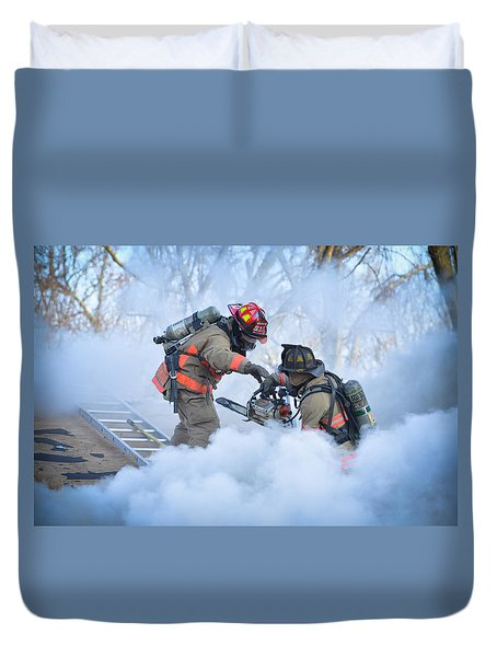 Hazardous Duty Duvet Cover