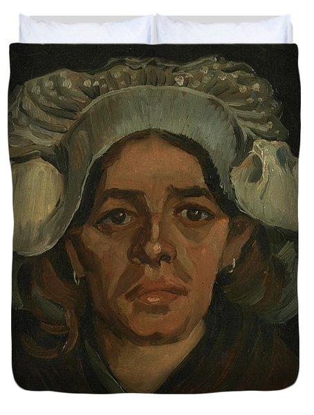 Head Of A Woman - 2 Duvet Cover