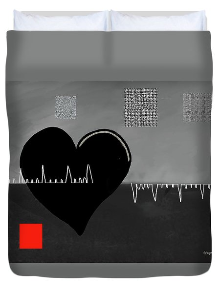 Heartbroken Duvet Cover