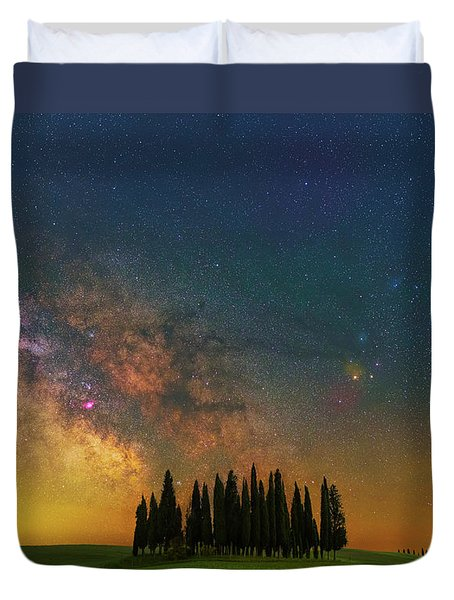 Heaven On Earth Duvet Cover