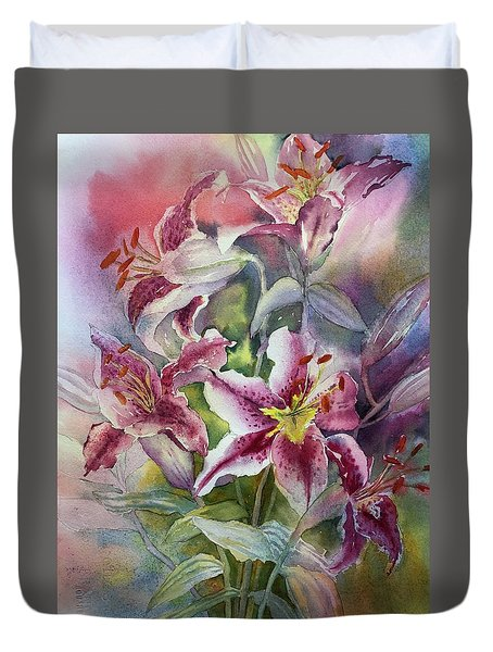 Heaven Scent Duvet Cover