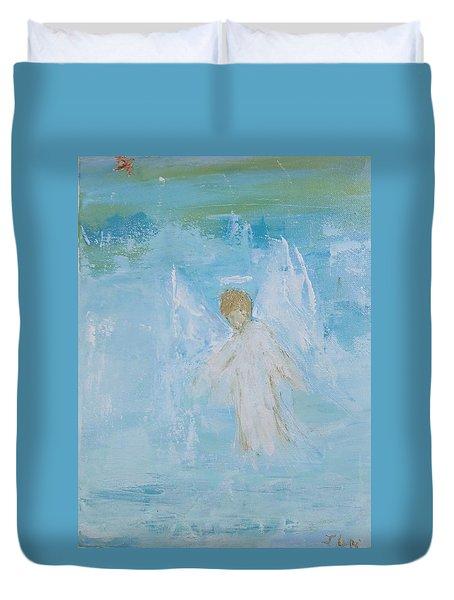 Heavenly Angel Child Duvet Cover