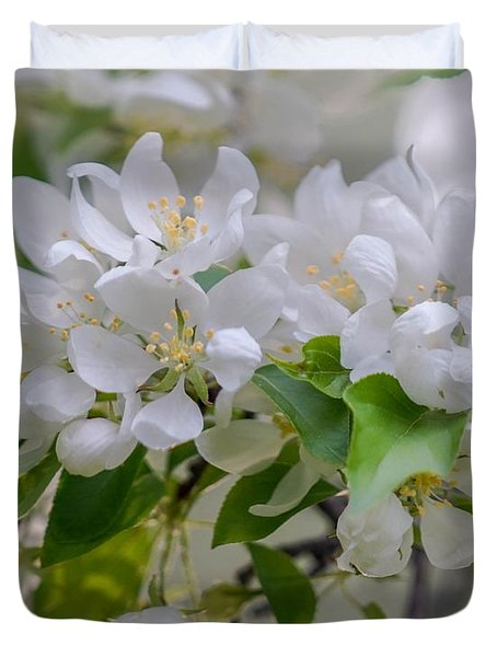 Heavenly Blossoms Duvet Cover