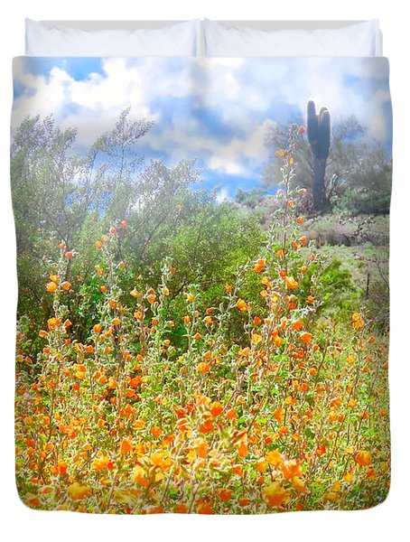 Heavenly Home In Arizona Duvet Cover