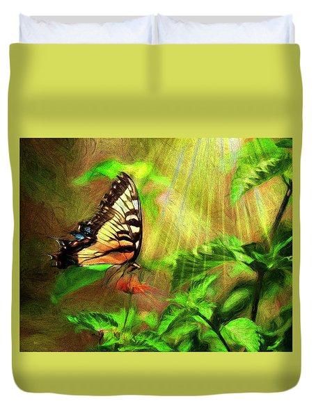 Heavenly Nectar Duvet Cover