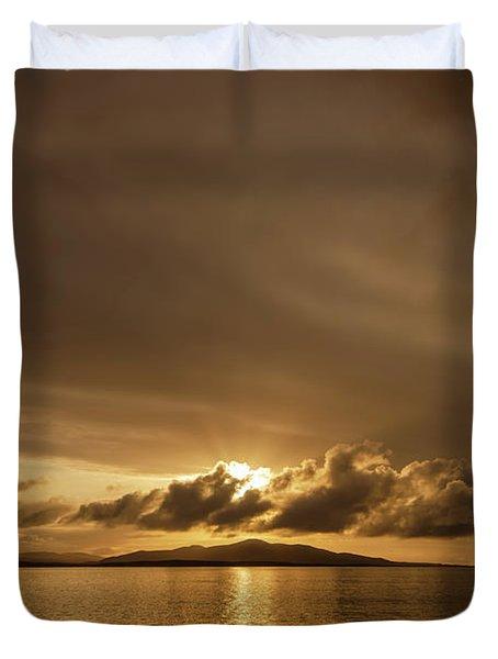 Hebridean Sunrise Duvet Cover